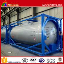 Conteneur de réservoir d'OIN de 24000 litres de LPG de 20ft