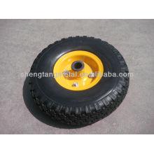 10-дюймовый pu пены колеса 3,50-4 для ручной тележки