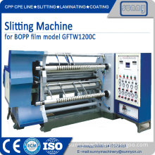 Slitting machine standard size roll to roll