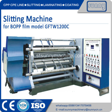 MET PET Filem slitting rewinding machine