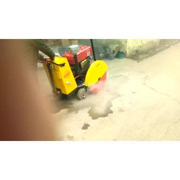 cutting portable  concrete  pavemen road cutter machine
