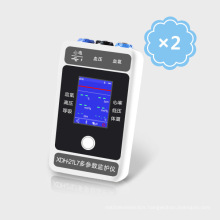 Handheld OLED Display Six Parameter Patient Monitor with Bluetooth