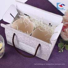 O costume imprimiu a caixa de papel de empacotamento ondulado profissional do presente do fruto