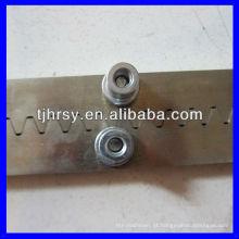 Cremalheira de engrenagem zincada M4