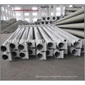 hot dip galvanized middle hinged light poles