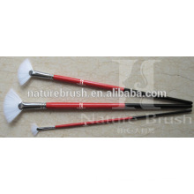 fan synthetic hair artist brush with tail school brush