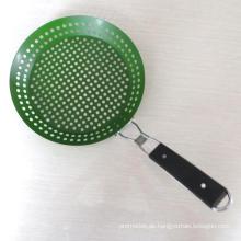 Praktische Outdoor-Tool BBQ Gemüse Grill Pan (HA67002)