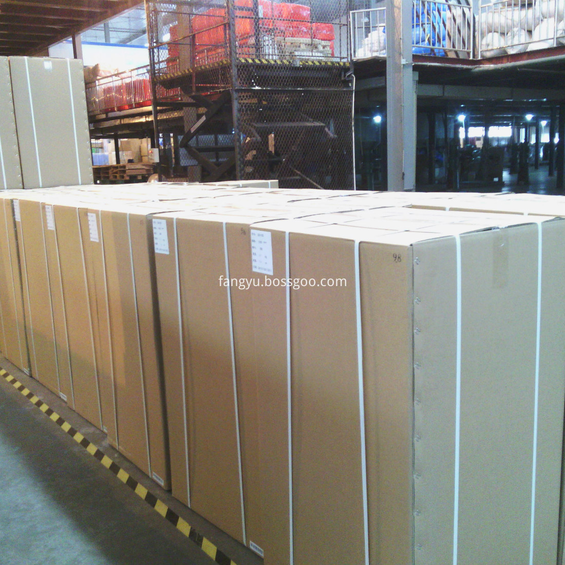 Packing of vacuum insulation panel for refrigerator and cooler box