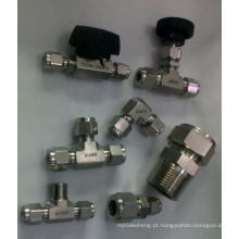 Montagem de tubos de instrumentação