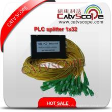 China Lieferant Hohe Qualität 1 * 32 PLC Splitter / Optische Koppler
