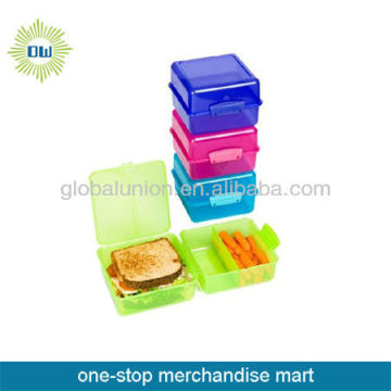 Hard Plastic Lunch Box