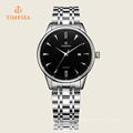 Men′s Fashion Date Dial Stainless Steel Analog Quartz Watch 72309