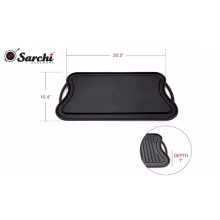 Rectangular 50.5*26cm Reversible Griddle