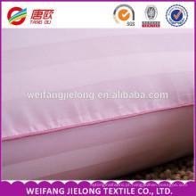 100% algodão 40 s tira de cetim, Bom Preço Hotel Beddings tecido cor branca hotel capa de edredão conjunto de cetim faixa ou tecido de cetim