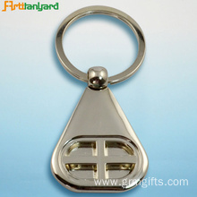 Metal Keychains Customized With Nickel Plated