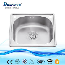 Hot Sales In Thailand Clay Single Bowl 20 Inch Stainless Steel Hair Wash Sink