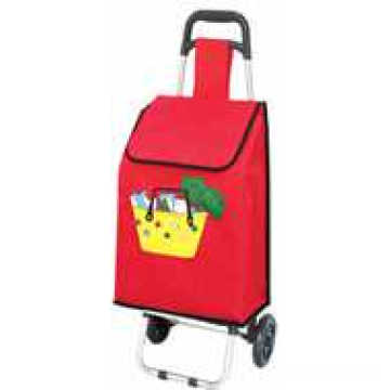 Carretilla plegable de las compras para el bolso del viaje de la promoción (SP-521)