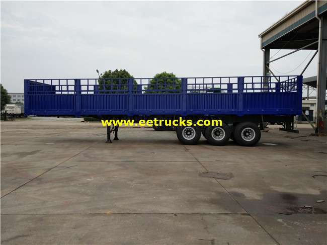 Box Van Semi Trailers