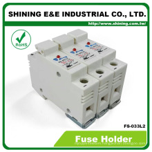 FS-033L2 With LED Indicator 380V 32A 3 Pole 10x38 Fuse Holder