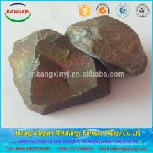 Terrón del manganeso de Ferro del cargo a granel de la fábrica de China para la fundición