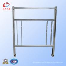 Soldadura de piezas de metal CNC