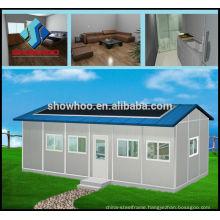 Cheap quick build pre built houses hotel