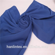 Tissu à haute définition voile tissu / 1650 twisted 100% polyester voile tissu