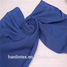 Tecido de voile de alta definição / 1650 tecido de voile 100% poliéster torcido