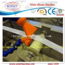 Máquina de la protuberancia de la hoja de anilla del borde del PVC con funcionamiento estable