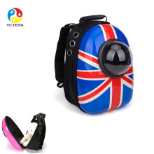 2017 Amazon hot selling pet products Waterproof Astronaut Capsule Carrier Pet Carrier Cat Bag Cat knapsack