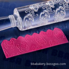 Acrylic Rolling Pin for Cake Decoration (BRP-A-1071)