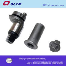 BV certificated metal spare parts casting for machinery equipments