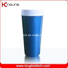 Couvercle en plastique à double couche en plastique de 400 ml (KL-5010)