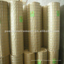 Acoplamiento de alambre soldado galvanizado caliente (fábrica)
