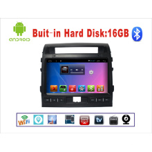 Android System Car DVD para Land Cruiser 10,1 pulgadas de pantalla táctil con GPS / Bluetooth / TV / MP3 / MP4