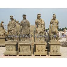 Резьба Камень Мраморная скульптура для античного сада Каменная статуя (SY-X1702)