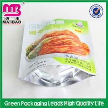 Excelente bolsa de embalaje de kimchi para servicio al cliente