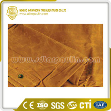 Tear Resistant Silicone treated Poly Canvas Tarp