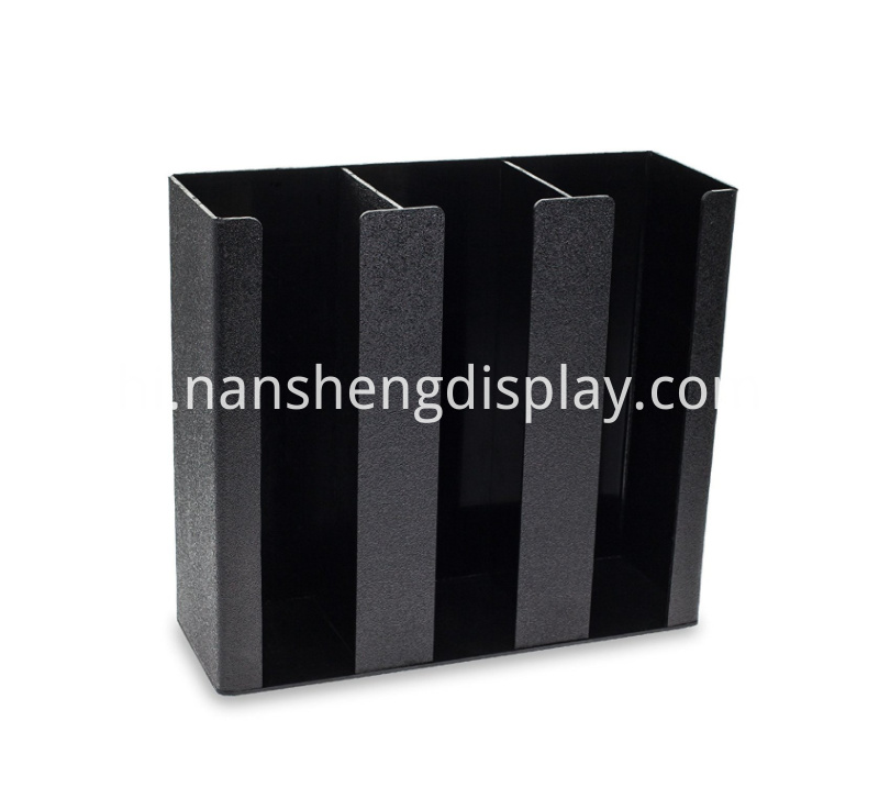 Black Coffee Cup Organizer