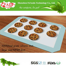 2014 FDA Hot sell double sided silicone cake mat