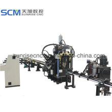 CNC Angle Punching Markierungs- und Schneidemaschine