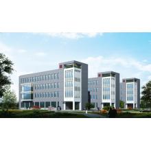 Edificios de oficinas de estructura de acero de alta estabilidad