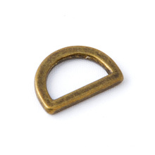 15mm d ring in antique brass