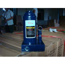 Jack de garrafa hidráulica na indústria