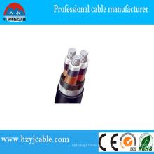 Cable de bajo voltaje de seguridad IEC Tambor de madera estándar con refuerzo de hierro