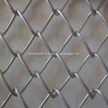 clôture à mailles de chaîne galvanisée
