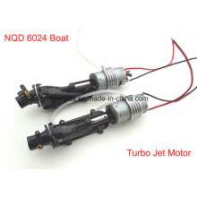 Nqd 6024 RC Boat Tear Into Turbo Jet Part with 390 Motor