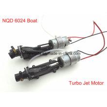 Nqd 6024 RC Лодка разрыв в части Turbo Jet с двигателем 390