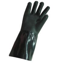 Gant industriel en néoprène noir à finition rugueuse (5341)