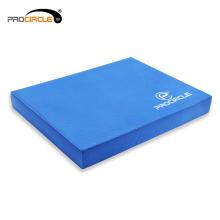 Procircle Wholesale Blue GYM TPE Cojín de espuma de equilibrio cuadrado